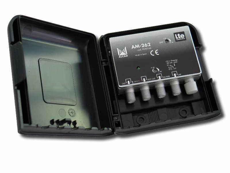 ALCAD AM-262 LTE mastovahv. FM/VHF-UHF 24V