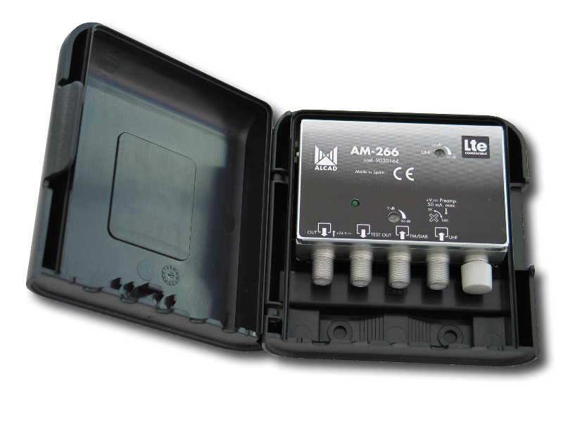 ALCAD AM-266 LTE mastovahv. FM/VHF-UHF 24V