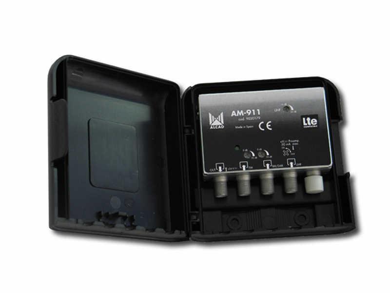 ALCAD AM-911 LTE mastovahv. FM-VHF-UHF 24V