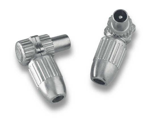 MC-000 IEC-kulmaliitin uros metallikotelo