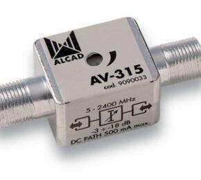 ALCAD AV-315, säädettävä vaimennin