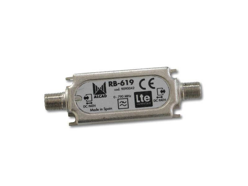 ALCAD RB-619 LTE-suodin kaapeliin