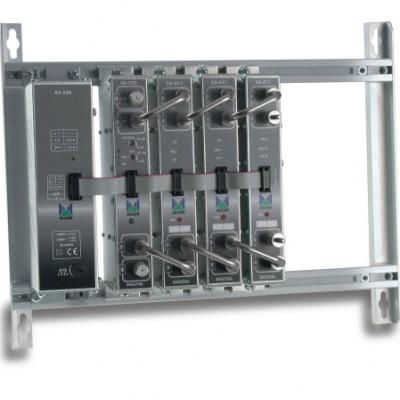 ZA-903 ohjelmoitava päävahvistin FM-VHF- 6xMUX UHF