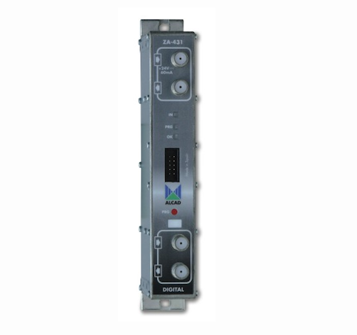 ZA-431 kanavaprosessori UHF